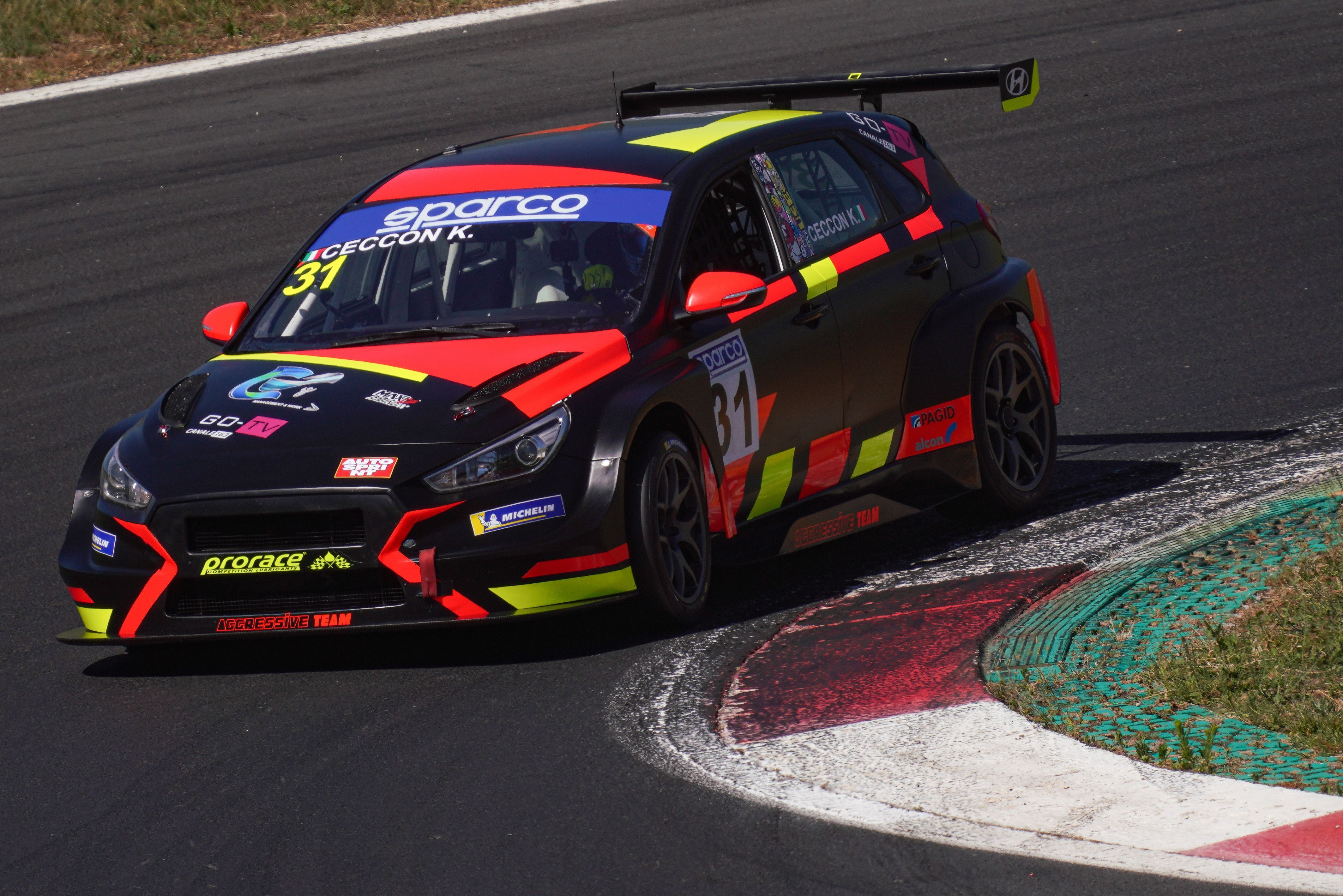 Kevin Ceccon - TCR Italy - Vallelunga