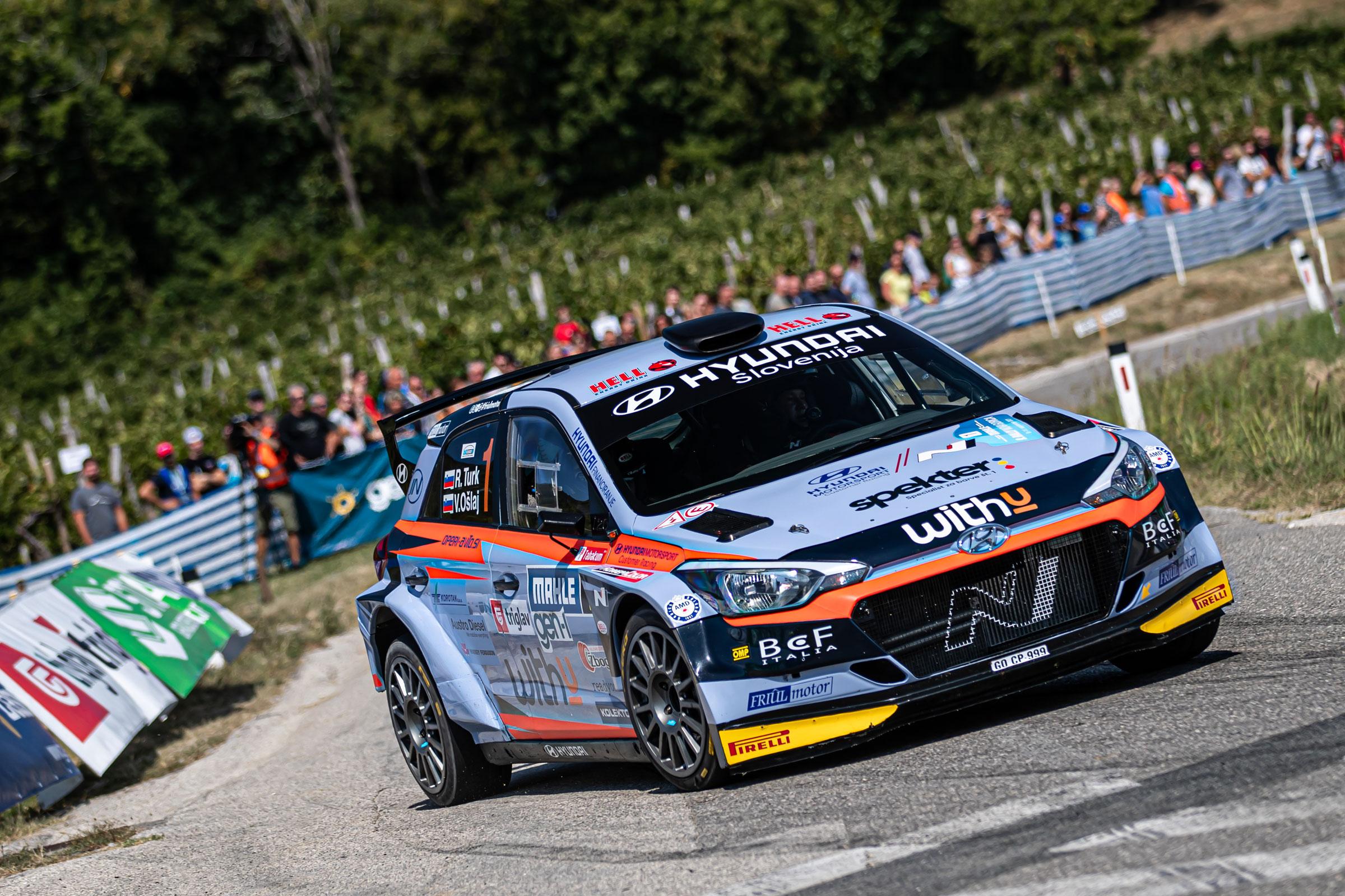 Rok Turk - Rally Nova Gorica - i20 R5