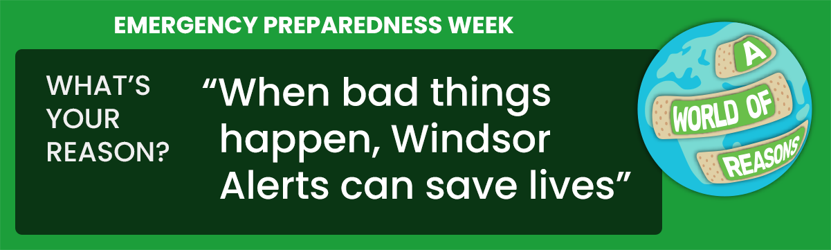 When bad things happen, Windsor Alerts can save lives