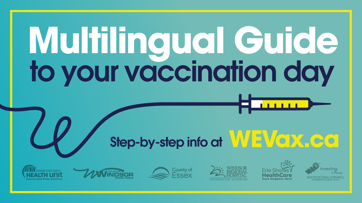 Multilingual Guide To Your Vaccination Day