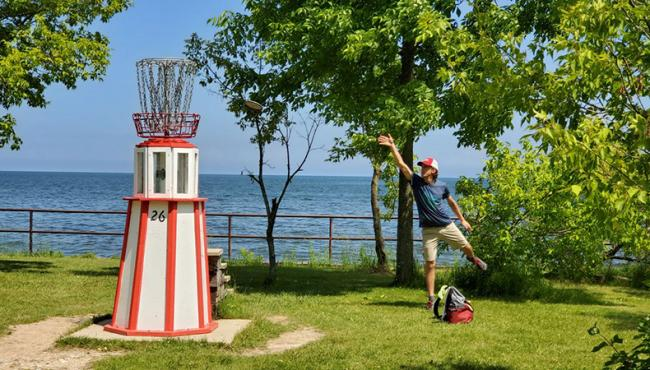 The iconic Silver Creek Park lighthouse will be on display at this weekend's Silver Cup.