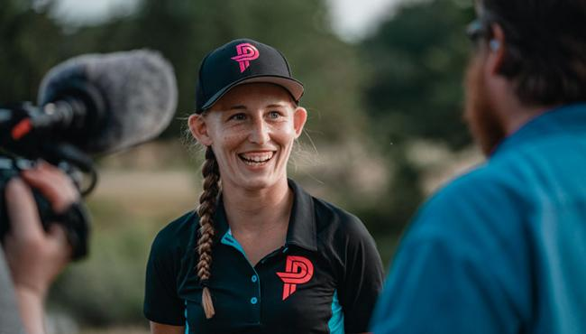 Paige Pierce comes off back-to-back wins for a wide-ranging interview on PDGA Radio.