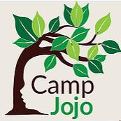 Camp Jojo Logo with tree