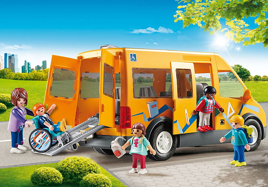 Playmobil play bus