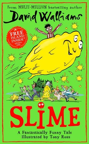 Cover of book Slime, by David Walliams