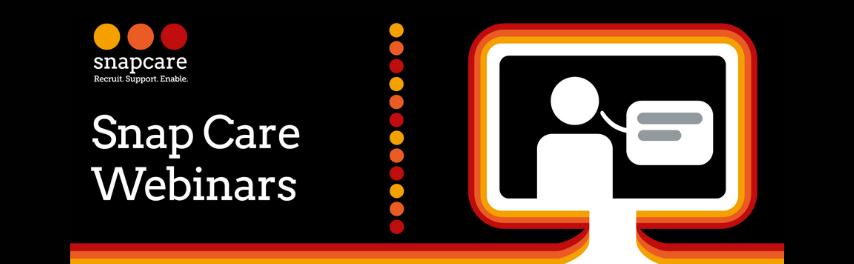 Snap Care Webinar banner