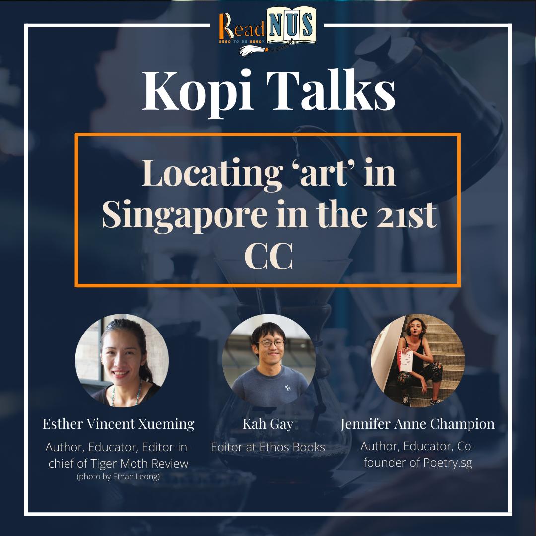 Kopi Talks: Locating 'art' in Singapore in the 21st CC