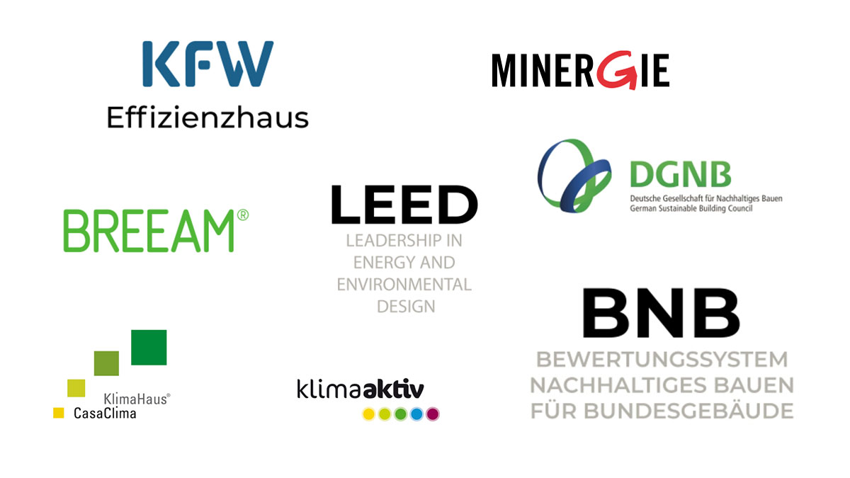 Logos_Sustainable Building_Certifications