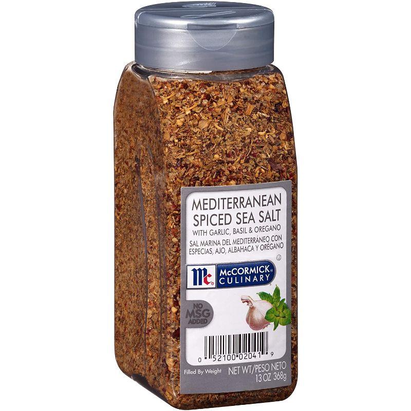 McCormick Culinary Mediterranean Spiced Sea Salt