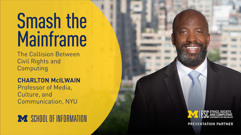 Tuesday, February 2nd - Smash the Mainframe - The Collision Between Civil Rights and Computing