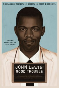 John Lewis Good Trouble Poster depicting John Lewis