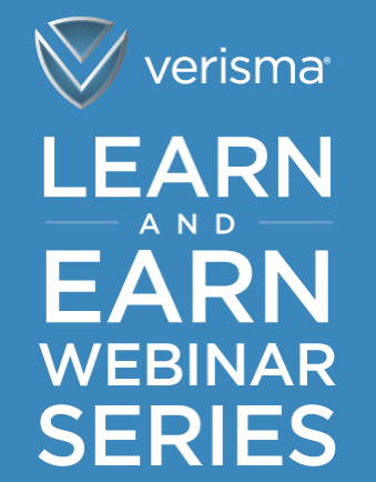 verisma LEARN AND EARN WEBINAR SERIES image