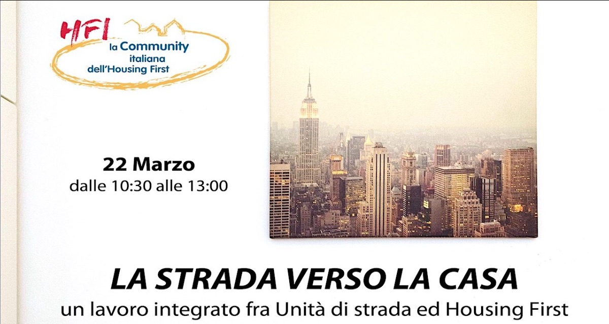 Webinar Housing First 22 marzo 2021
