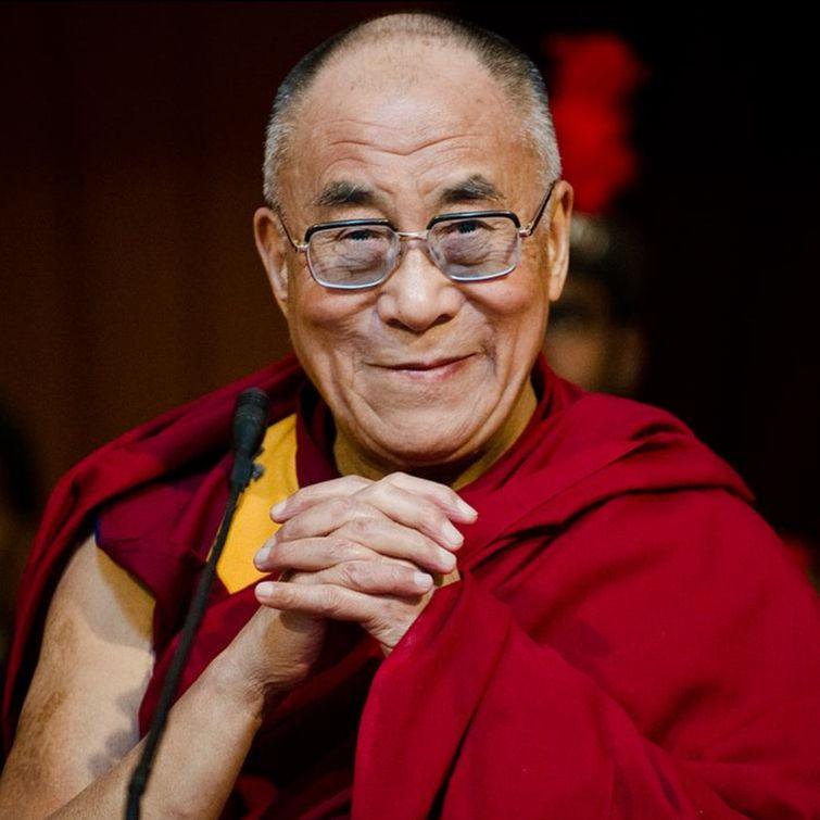 Foto van de Dalai Lama