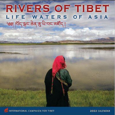 Foto van de voorkant van ICT's 2022 jaarkalender: Rivers of Tibet