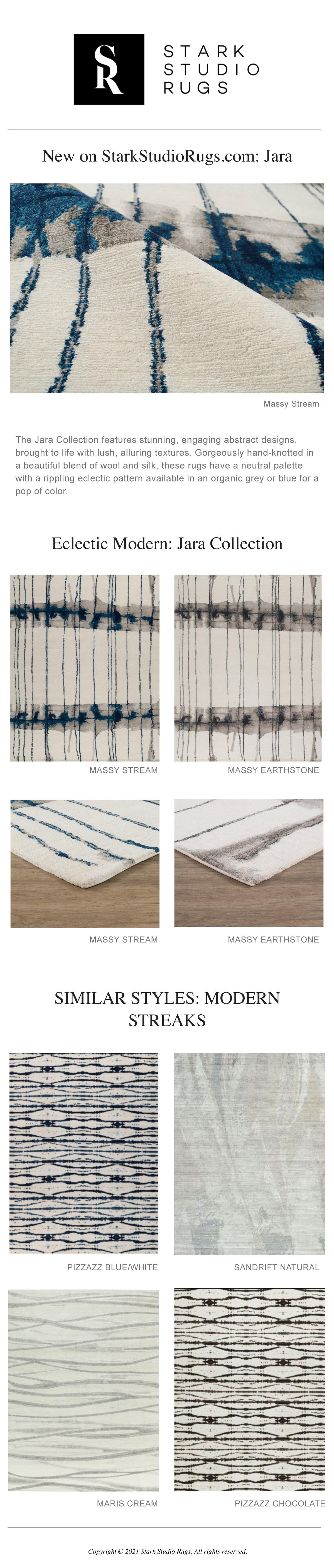 Stark Studio Rugs - New Modern Eclectics: Jara Collection