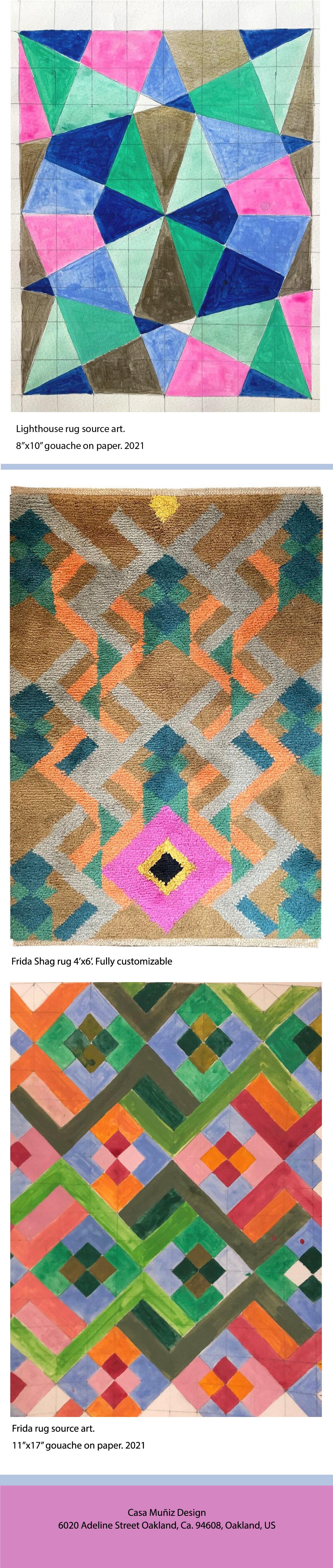 Casa Muniz Design- Kush up rug images