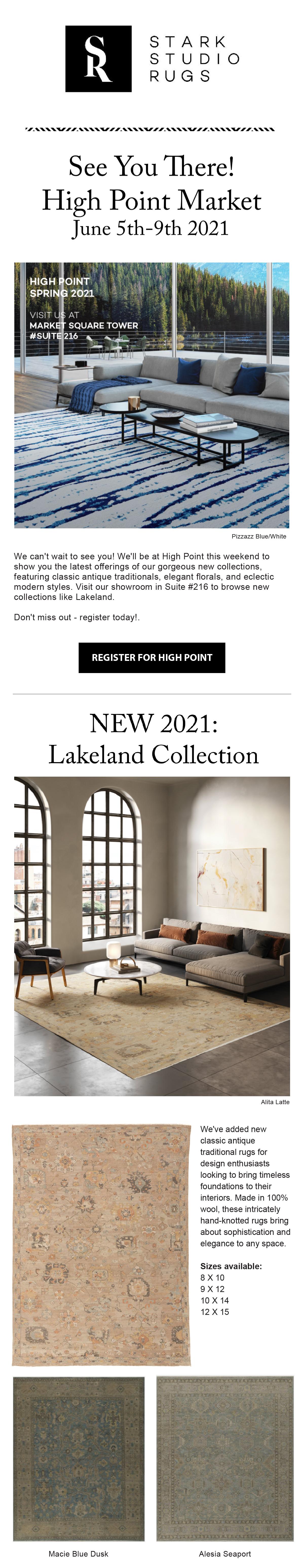 Stark Studio Rug: High Point 2021
