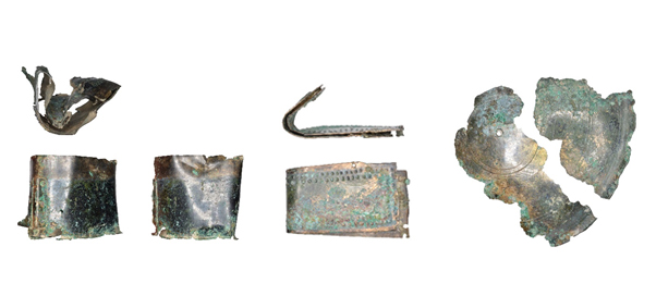 photo showing different views of the relic box