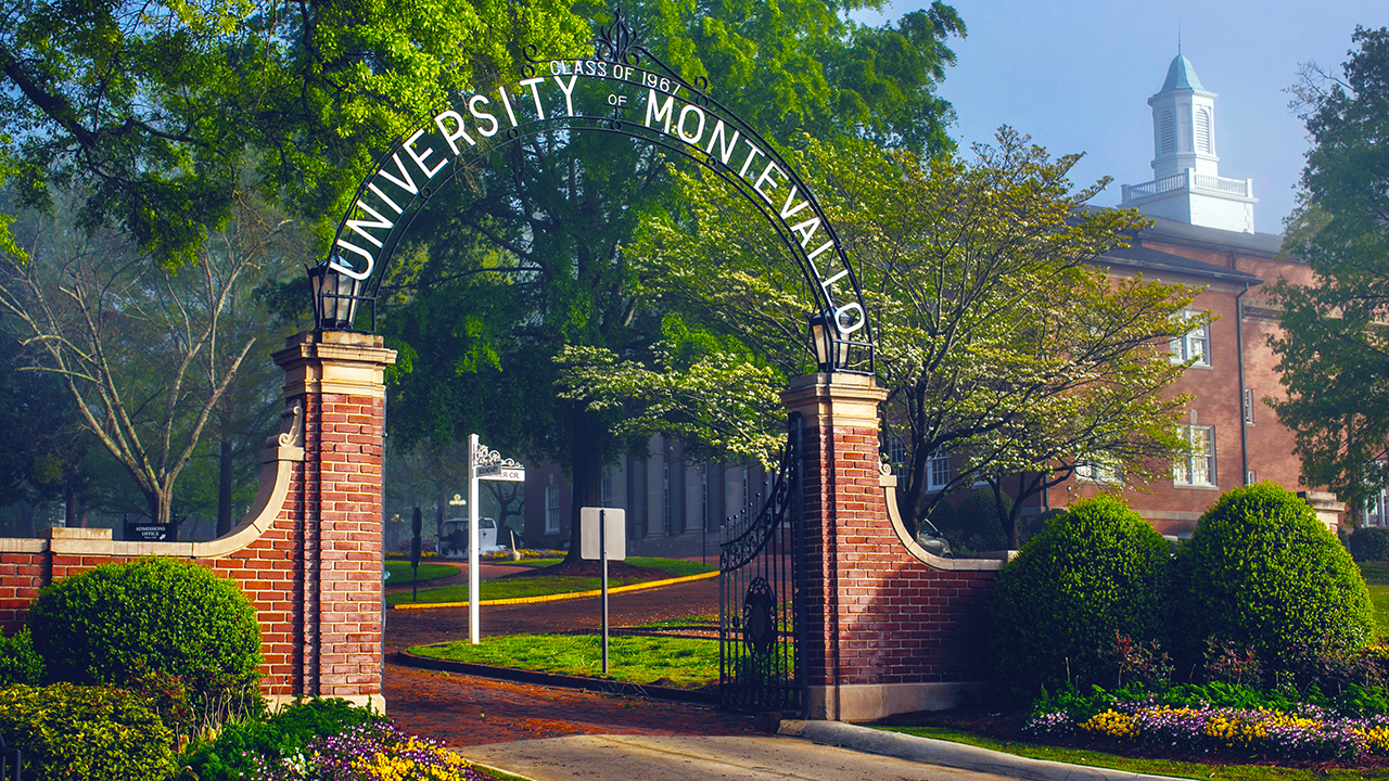 University of Montevallo gates