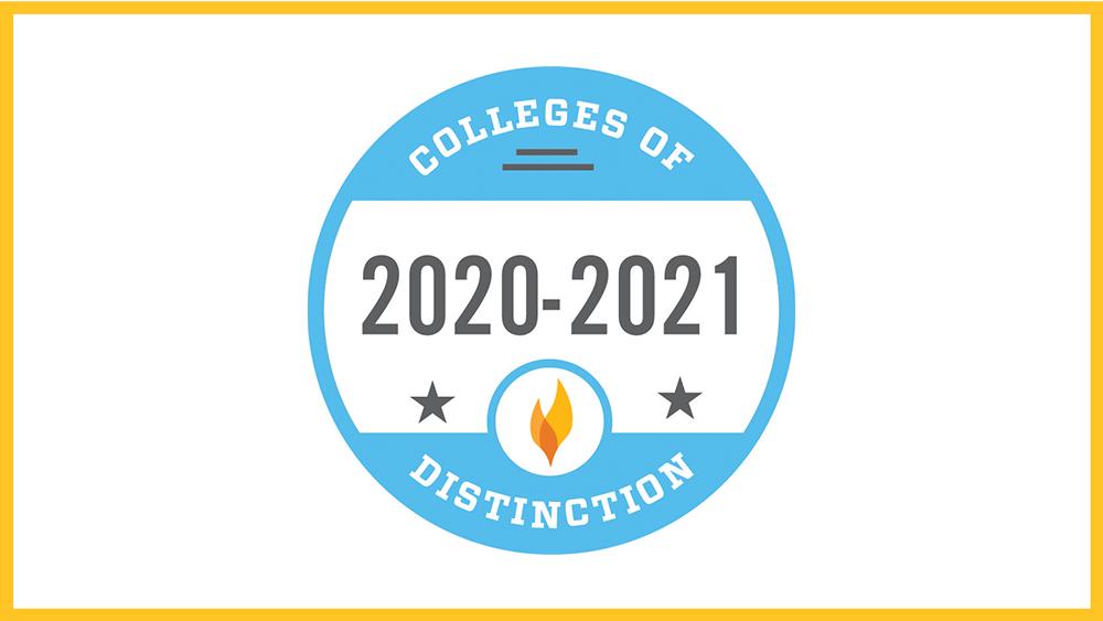 College of Distinction graphic