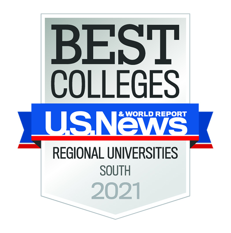 U.S. News and World Report Best Colleges Ranking Graphic