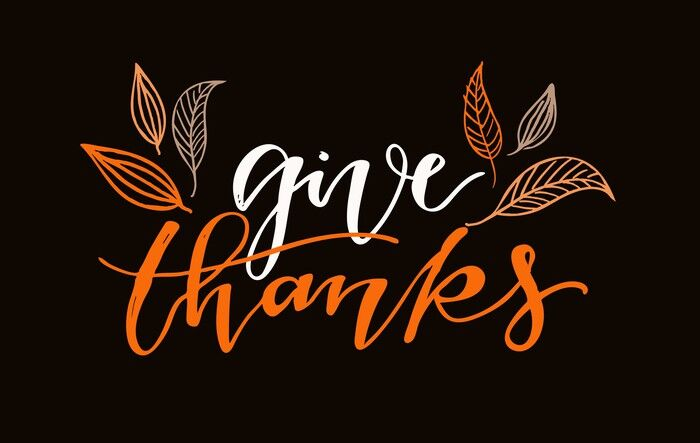 """give thanks"" image"