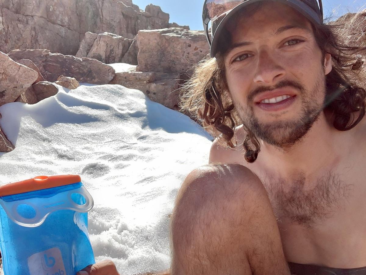 Clemens - Abkühlung nach spontanem Berglauf