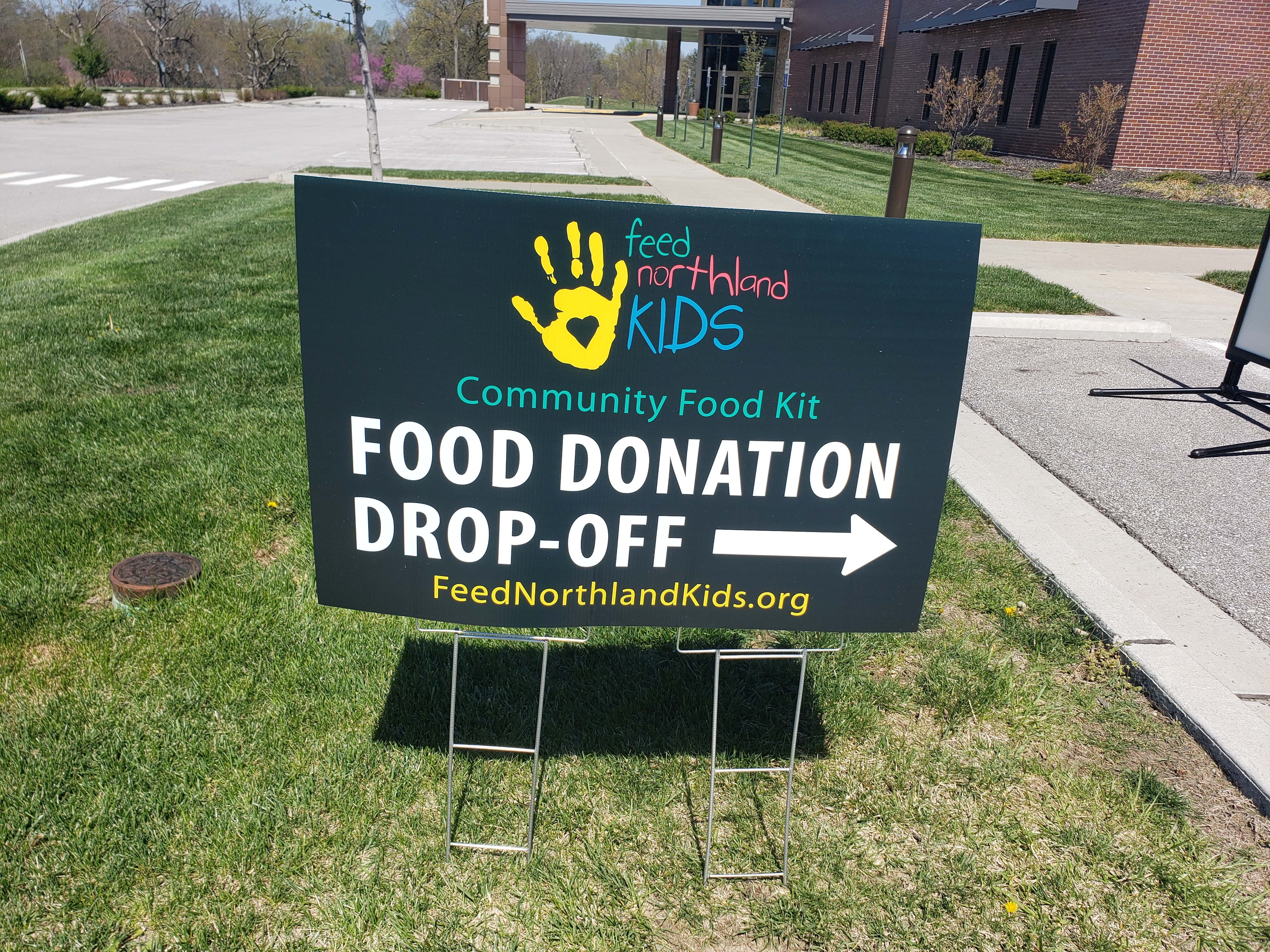 food donation dropoff