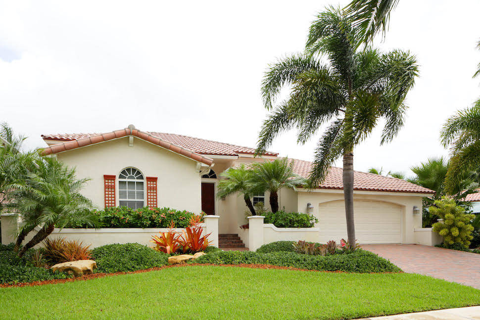 Exterior of a house in Florida