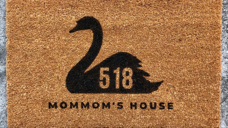 photo of a doormat by 863 company