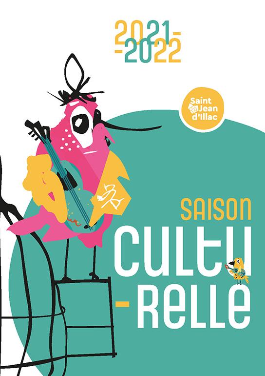 Visuel de la couverture du guide de saison culturelle