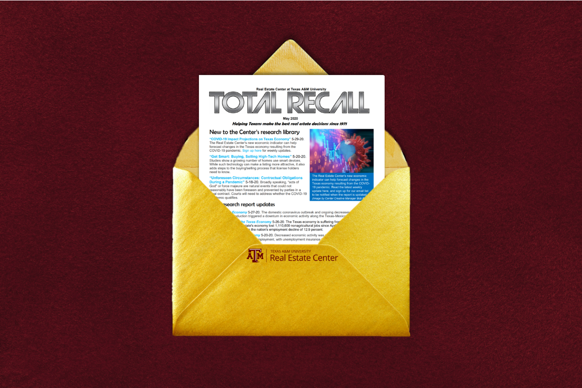 Total RECall in a gold envelope