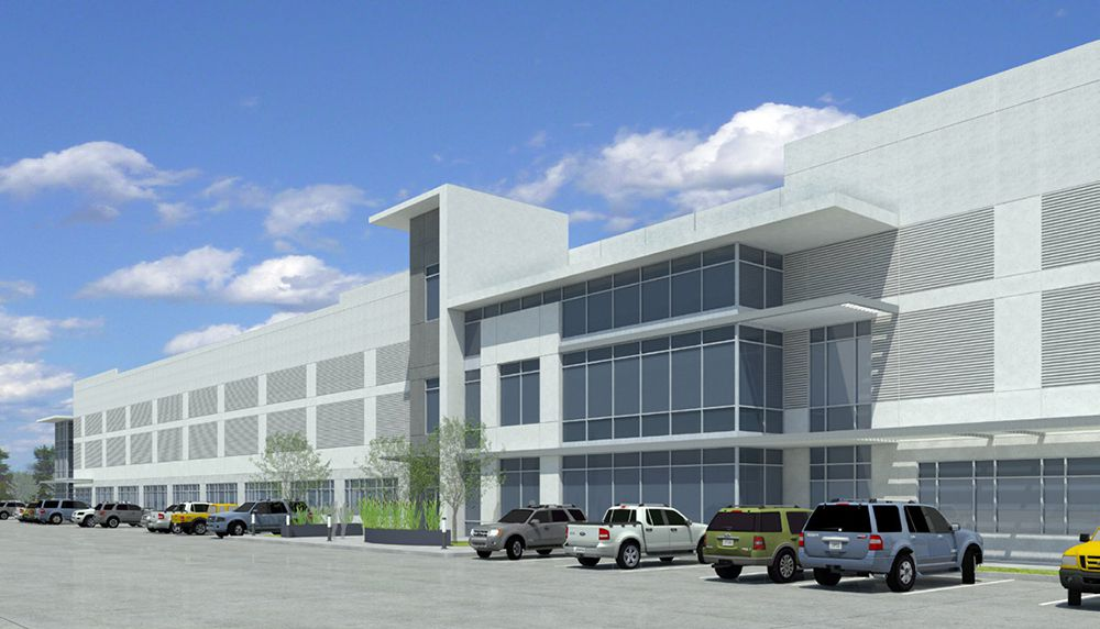 Rendering of South Fort Worth Logistics Center