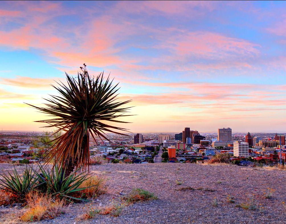 Sunset at El Paso