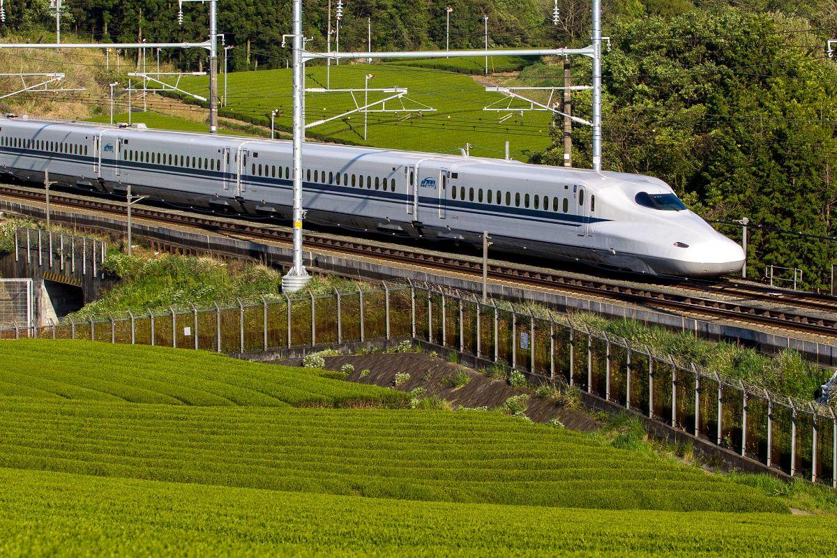 Texas high-speed rail train