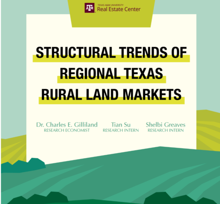 Structural Trends of Regional Texas Rural Land Markets