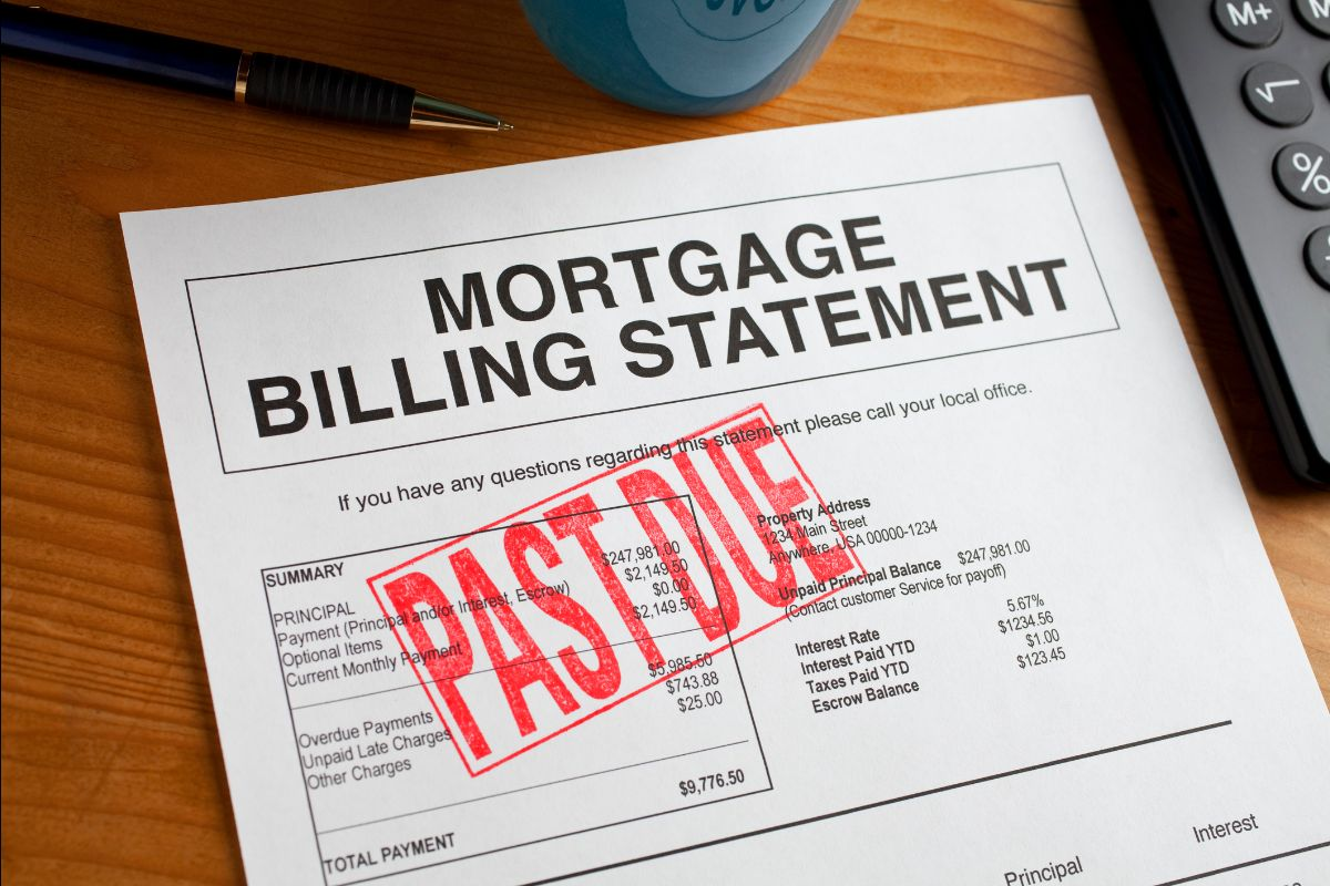 Past due mortgage