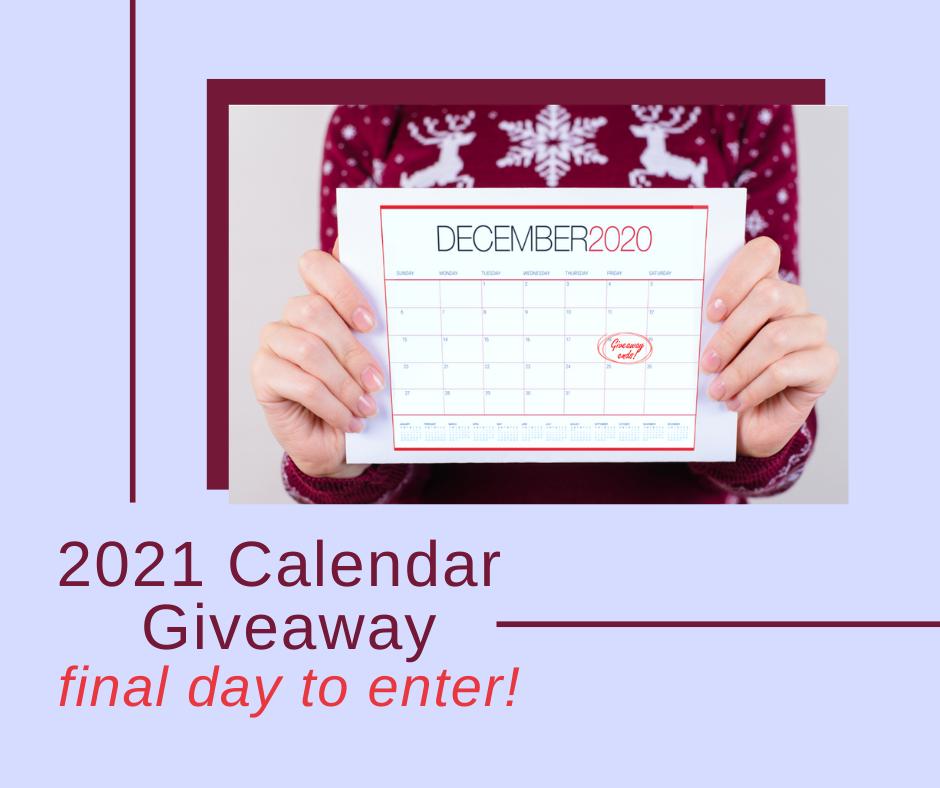 2021 Calendar Giveaway