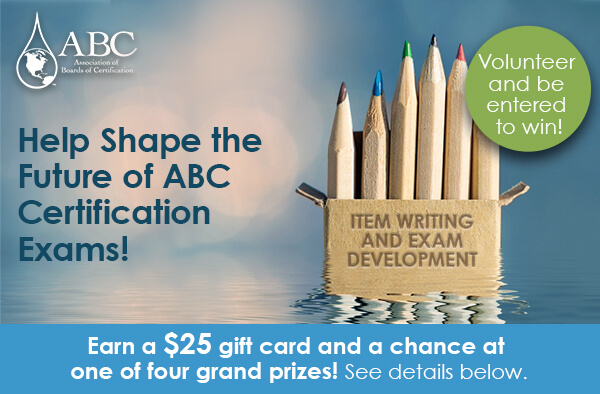 Help Shape the Future of ABC Certification Exams!