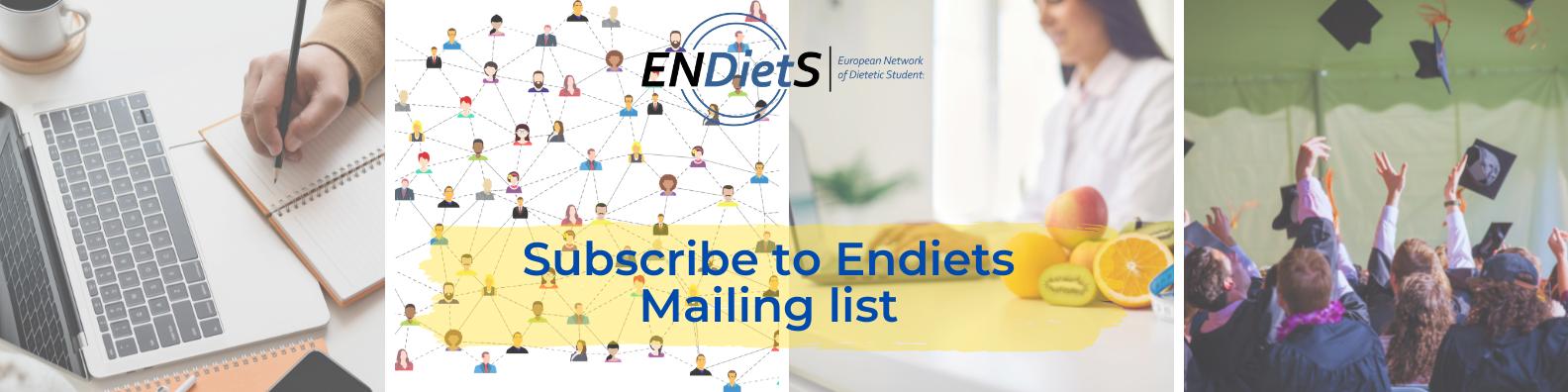 ENDietS subscription banner