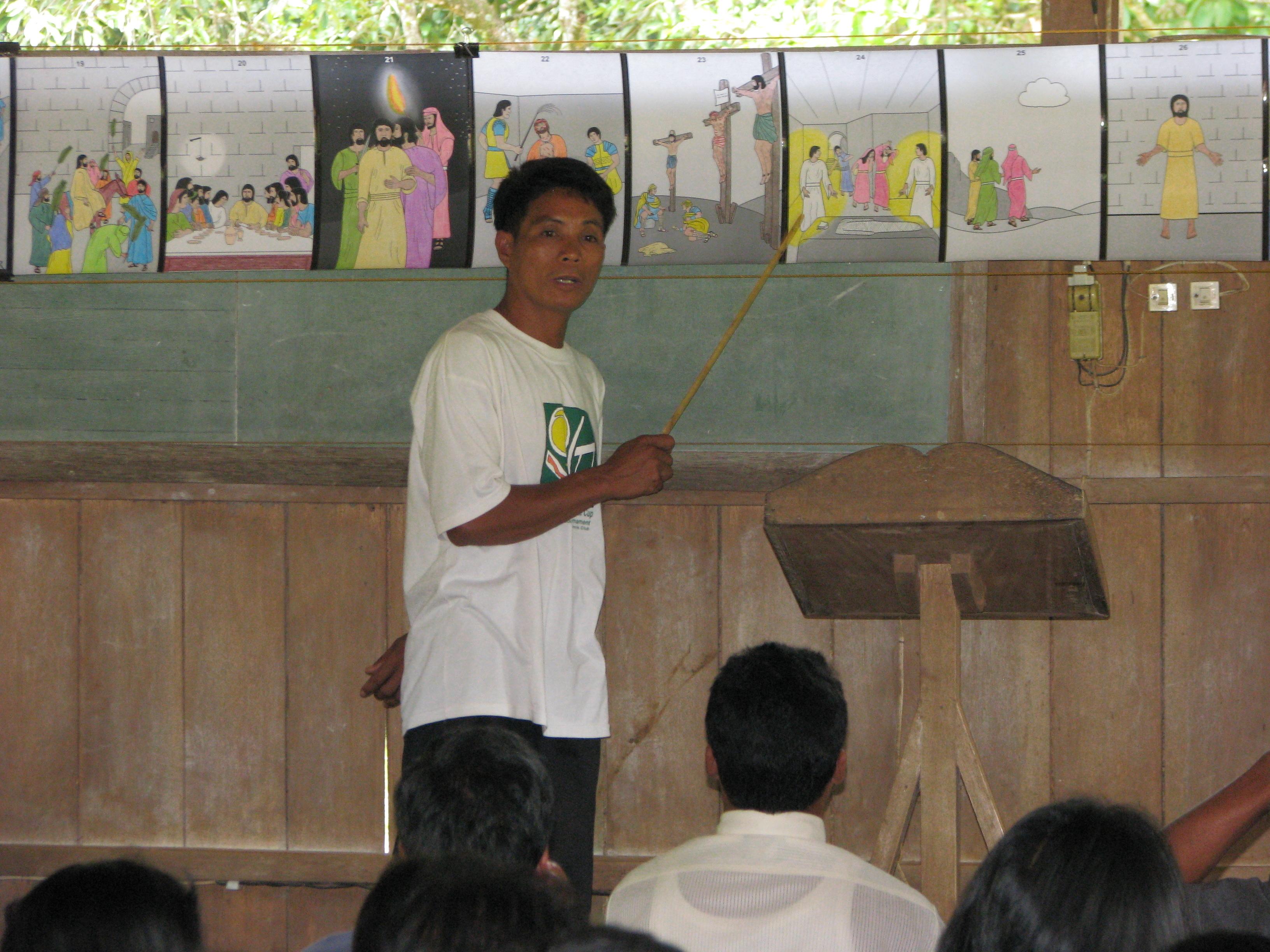 Pogong teaching