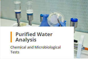 Purified Water Analysis Chemical and Microbiological Tests