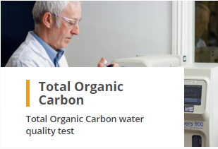 Total Organic Carbon TOC Analysis Water Quality Test Laboratory
