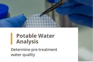 Potable Raw Feed Water Analysis Determine Pre-Treatment Water Analysis