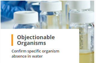 Objectionable Organisms Testing Confirm Specific Organism Absence in Water