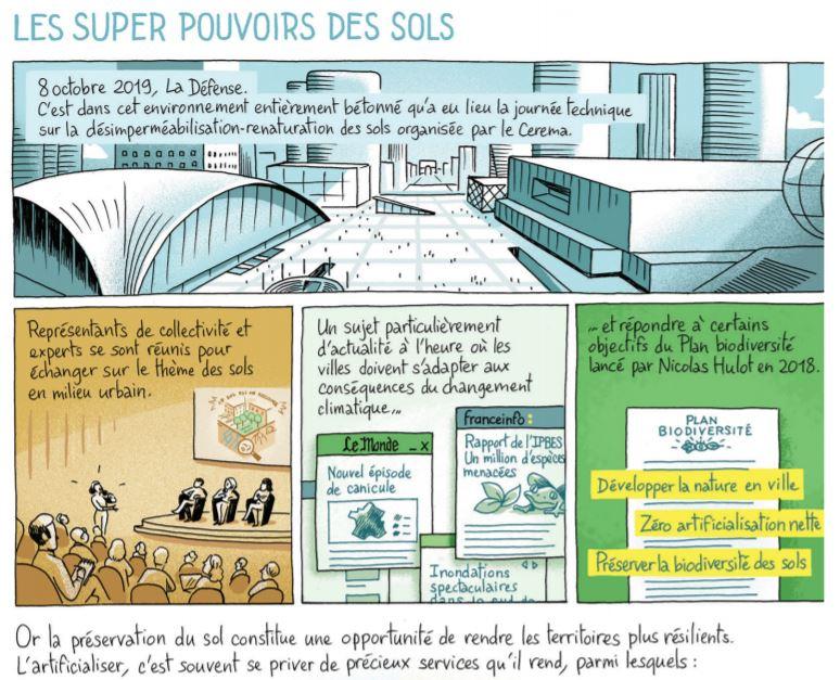 Les super pouvoirs des sols en BD