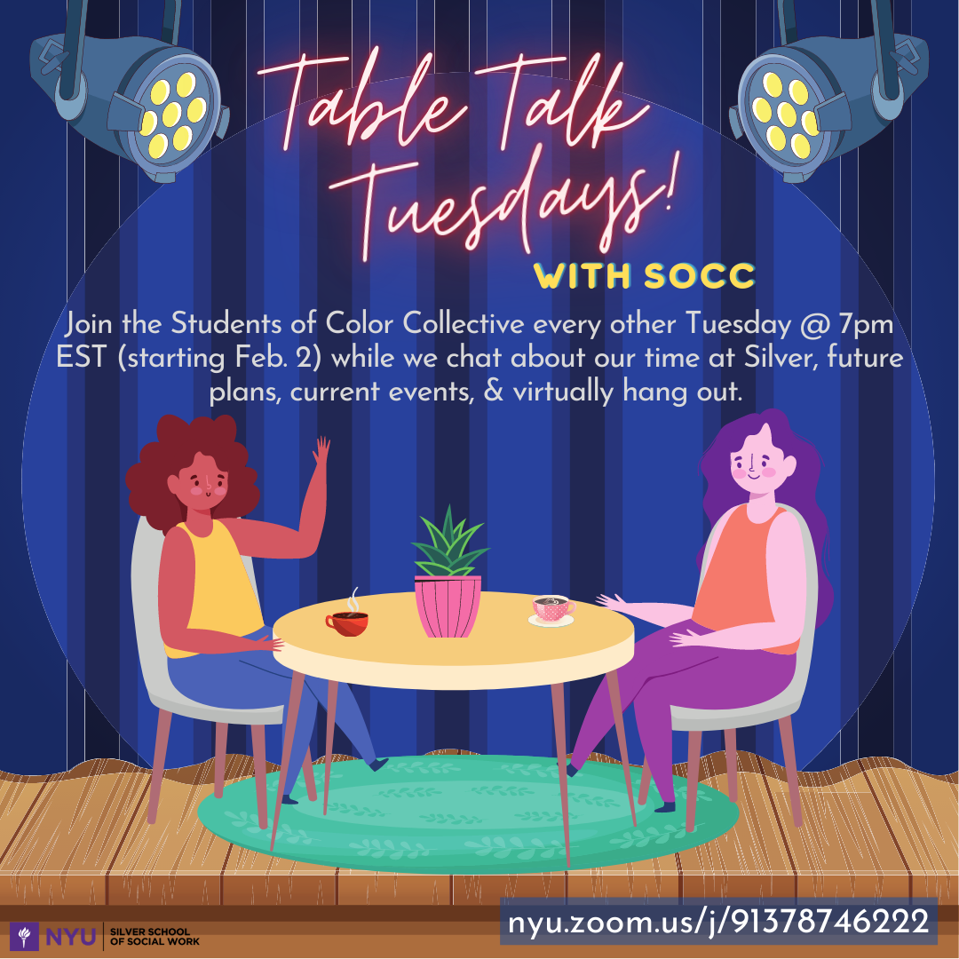 Table Talk Tuesdays with Students of Color Collective
