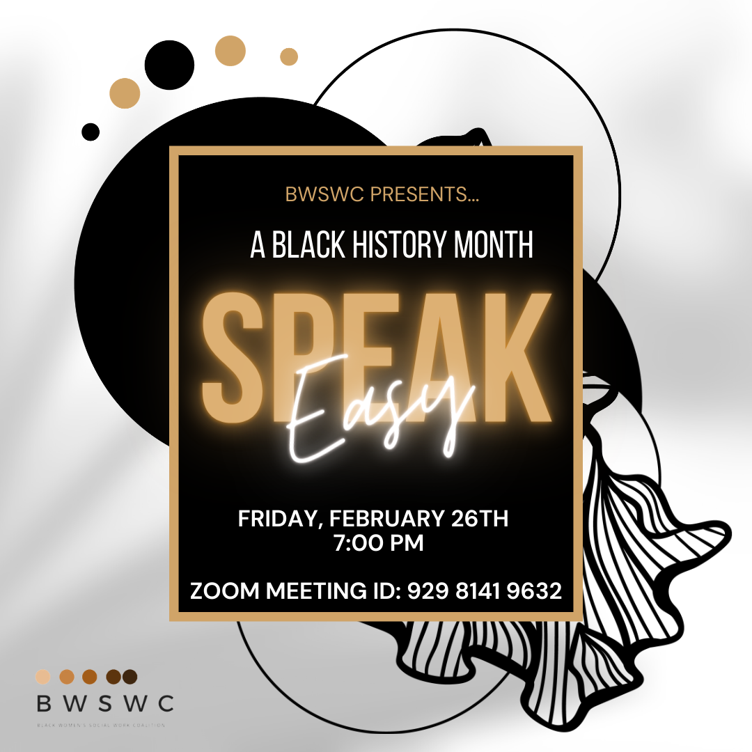 Black History Month SpeakEasy BWSWC Image