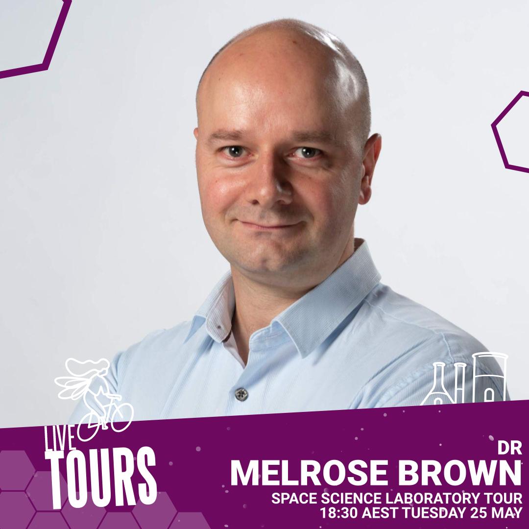 Branded image: Live Tours - Dr Melrose Brown
